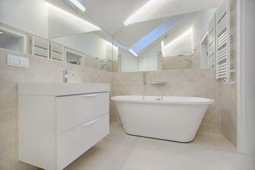 Czysta i schludna łazienka