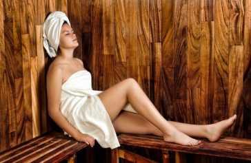 Zewnętrzna sauna: tak jak Finowie!