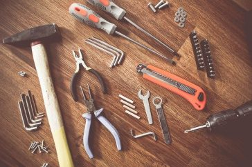 Walizka z narzędziami w każdym domu